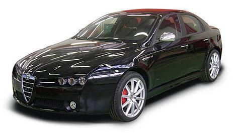 alfa romeo 159 3 2 v6 q4 detail. Black Bedroom Furniture Sets. Home Design Ideas